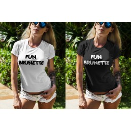 Дамска тениска Fun Brunette