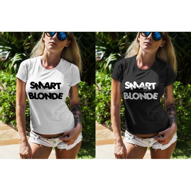 Дамска тениска Smart Blonde