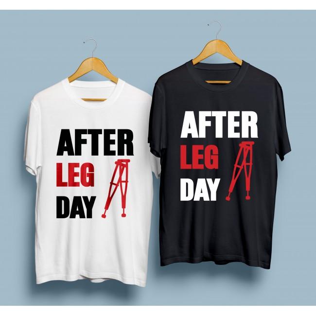 Фитнес тениска After leg day