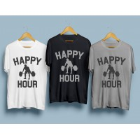 Фитнес тениска Happy Hour