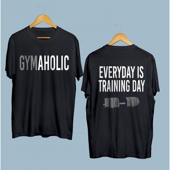 Фитнес тениска GYMAHOLIC