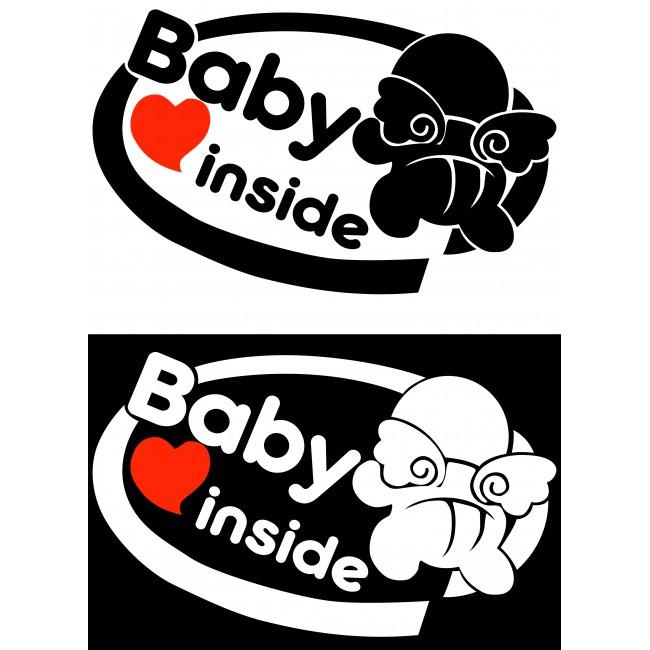 Стикер Baby Inside