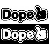 Стикер DOPE
