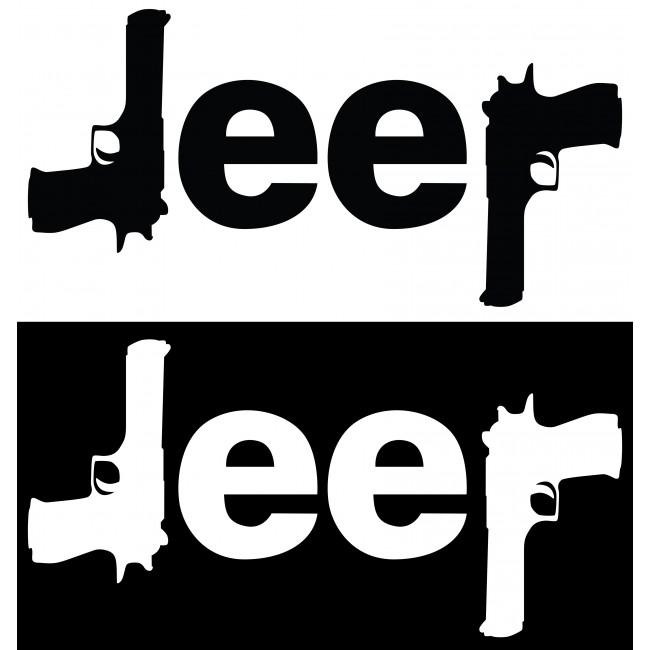Стикер Jeep