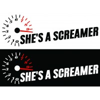 Стикер She's a Screamer