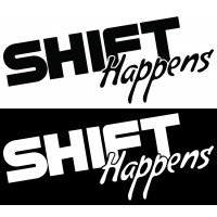 Стикер Shift Happens