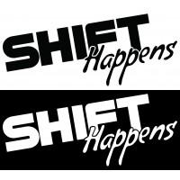 Стикер Shift Happens