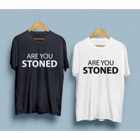 Тениска Are you stoned?