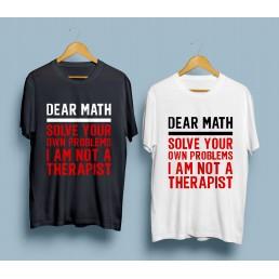 Тениска Dear Math