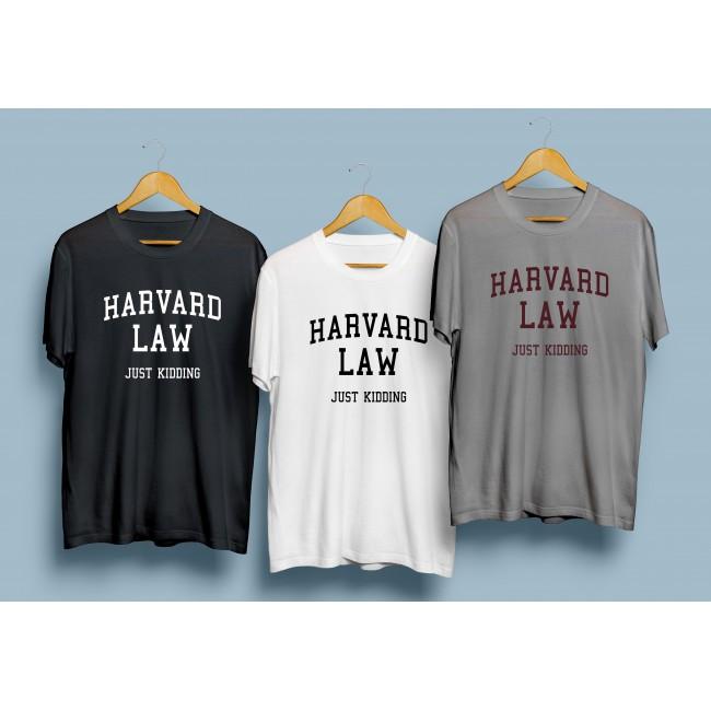 Тениска Harvard Law