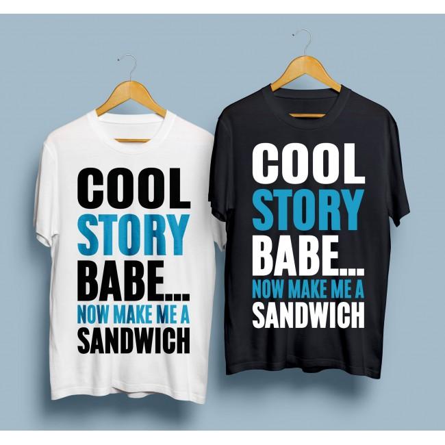 Тениска Cool Story Babe
