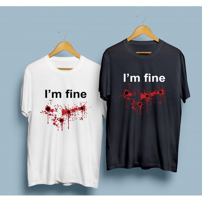 Тениска I'm Fine